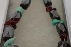 Magnetised-Hematite-Garnet-and-Turquoise-bracelet-14.00